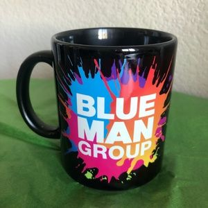 Blue Man Group Mug Dare To Live In Full Color